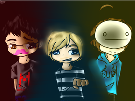 .:Finished:. Top 3 Youtubers by Sabrina-Tellijohn