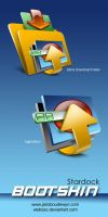 Bootskin Icons by weboso
