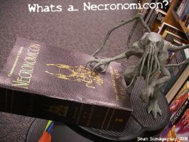 Whats a Necronomicon? by SeanSumagaysay
