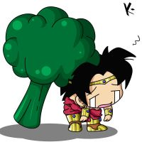 _Broly+Broccoli_ by DHackWings