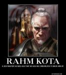 Rahm Kota Demotivational Poster by Haxorus54