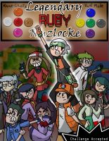 Legendary Ruby Nuzlocke Cover by Kame-Ghost