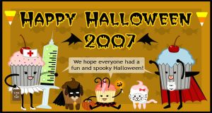 Halloween Cupcake Group 2007 by chat-noir