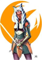 Ahsoka Tano by darktenshilight