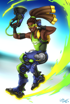 overwarch lucio by cynellis