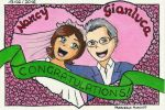 Nancy and Gianluca - Wedding card by dreamsaddict