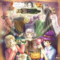 APH halloween in Englands room by chanchala-t