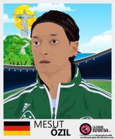 Mesut Ozil Vector Work by SemihAydogdu