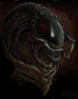 Predalien Collaboration by PsychoSlaughterman