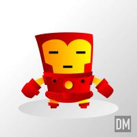Iron Man by DanielMead