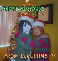 Ulquihime Holidays 1 by BlumberBerrry