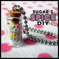 Unicorn Tears Jar Full Of Stars by SugarAndSpiceDIY