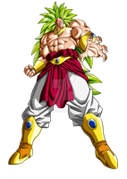 Commission: SSJ3 Broly by Raykugen