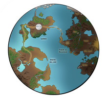 Genesis: Global Map by celestialDeception