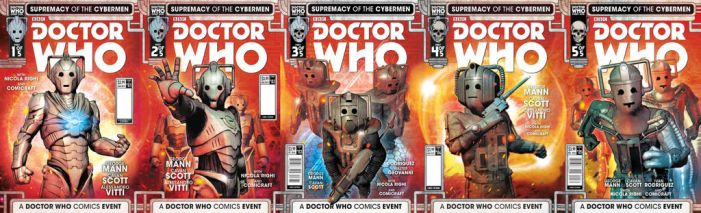 Doctor Who - Supremacy of the Cyberman by FabioListrani