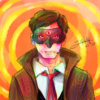 The Third eye - birthday gift by girldirtbiker