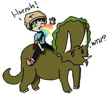 TRICERATOPS FTW by Moriiko