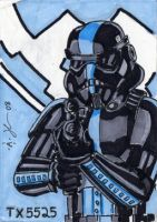 Stormtrooper Sketch Card 1 by Artassassin