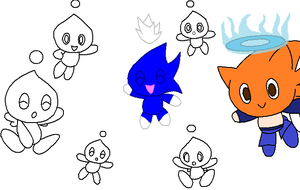 chao collab by Bar-Kun