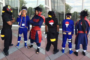 The Uchiha - Otakon 2015 by King-Hauken