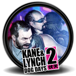 Kane and Lynch Dog Days Icon by Komic-Graphics
