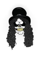 Skulls of Rock: Slash by PhantomxLord
