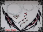 Elven Itachi Jewelry by pikabellechu
