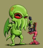Cthulu's got your number by drakered