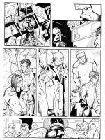 Judge Dredd page 2 inked by GibsonQuarter27