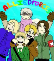 Allied Forces by OutskirtsOfInsanity