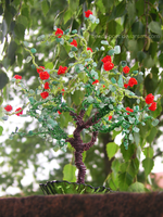 Pomegranate tree by beads-poet