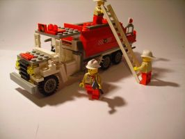 Lego - Fire Engine 1 by Tim-Ltd