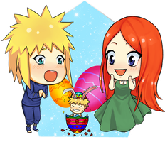 Naruto's Easter Egg by Peatchoune