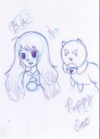 Bee And Puppycat Sketch by r0z3nkero
