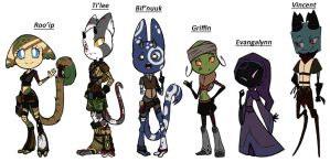 ~Character Line Up~ by Divazu