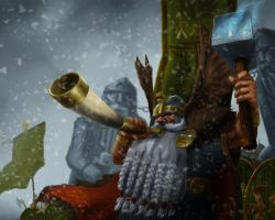 Kazador Thunderhorn of Clan Donarkhun by Forsaken91