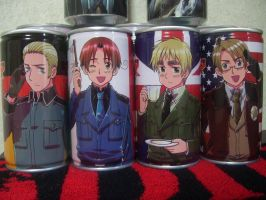 APH drinks - Gertalia, USxUK by Nightmare-sanx