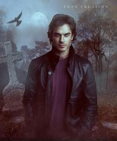 TVD damon salvator fan art by ektapinki