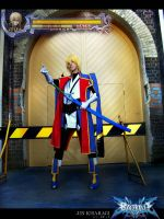 Blazblue: Jin Kisaragi by haraju2girls