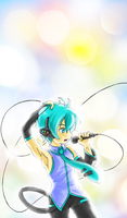 Mikuo for Nerd-Sama by a-fools-paradise