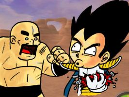 Saiyans are over 9000 by theEyZmaster