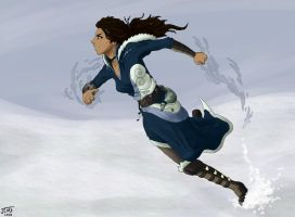 Katara: Water Bending Master by justcallmefaye
