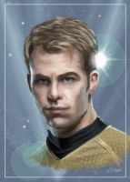 Captain James T. Kirk (Kelvin Timeline) by Dahkur
