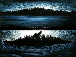Parkway Drive Deep Blue Wall 1 by ParkwayO