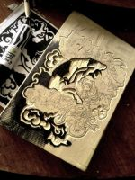 Wood carve by SteamyShumei