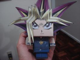 Yu-gi-Oh Papercraft by darkruffy