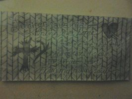 'Lucifer, Save Me' Wall Design [Revised] by LMW-Creations