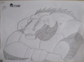 Leatherhead TMNT 2003 by Zetaby2594