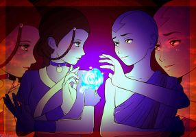 Katara and Aang: Purity by Acaciathorn