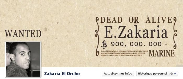 Wanted Facebook Timeline Cover by ezakaria